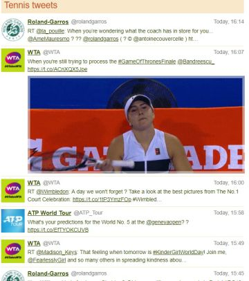 tweets tennis explorer